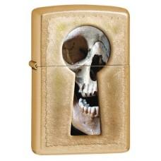 Зажигалка ZIPPO 28540 Keyhole Skull