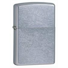 Зажигалка Zippo 207 Classic с покрытием Street Chrome™, латунь/сталь, серебристая, матовая, 36x12x56 мм