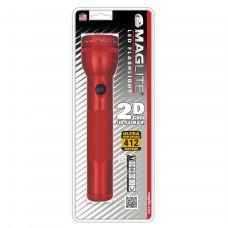 Фонарь MAGLITE LED ST2D036E (светодиод), 2D, красный, 25 см, в блистере