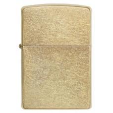 Зажигалка ZIPPO 207G Classic с покрытием Gold Dust™, латунь/сталь, золотистая, матовая, 36x12x56 мм