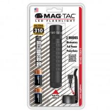 Фонарь MAGLITE LED SG2LRE6  (светодиод), 2CR123, плоский безель, черный, 13,4 см, в блистере