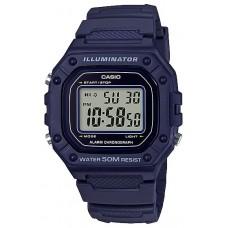 Часы CASIO W-218H-2AVEF