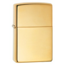 Зажигалка ZIPPO 254B Classic с покрытием High Polish Brass, латунь/сталь, золотистая, глянцевая
