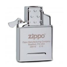 Газовый вставной блок Zippo 65827 для широкой зажигалки, двойное пламя, нержавеющая сталь